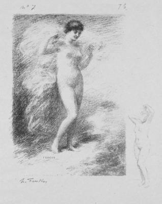 Andre Marie de Chenier Poem Néère by Henri Fantin-Latour