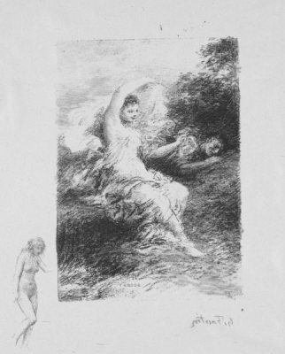 Andre Marie de Chenier Poem Lydé by Henri Fantin-Latour