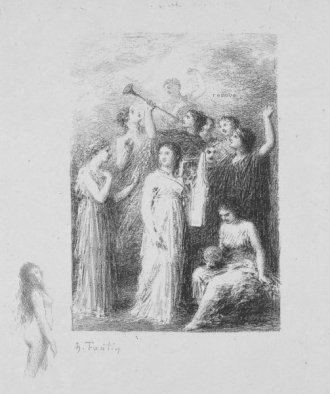 The Blind by Henri Fantin-Latour Frontispiece to the poems of Andre Chenier