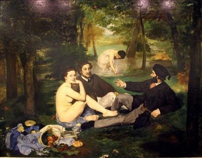'Almoço na Relva' ? Edouard Manet, 1863. Museu d'Orsay, Paris