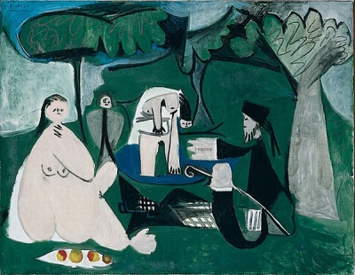 Almoço na Relva Édouard Manet, 1863 e Pablo Picasso, 1960