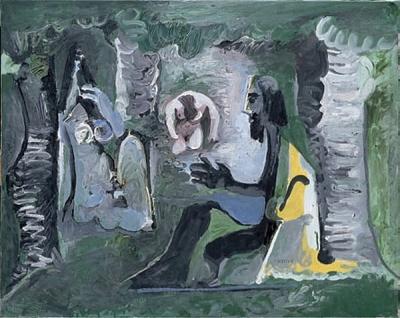 (C)Succession Picasso 2008 - Photo RMN / Jean-Gilles Berizzi Le déjeuner sur l'herbe d'après Manet, 27 juillet 1961 Paris, musée Picasso