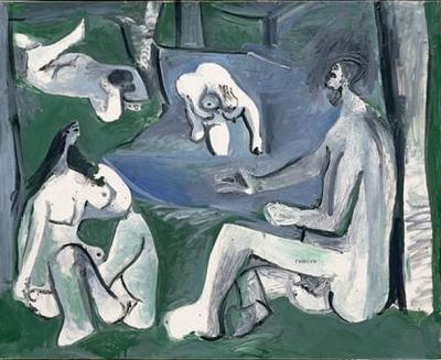 (C)Succession Picasso 2008 - Photo RMN / Jean-Gilles Berizzi Pablo Picasso  (1881-1973), Le déjeuner sur lherbe daprès Manet, 13 juillet 1961.Paris, musée Picasso