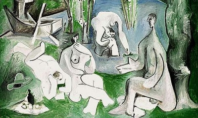 (C)Succession Picasso 2008 Picassos version of Manet's Dejeuner sur l'herbe