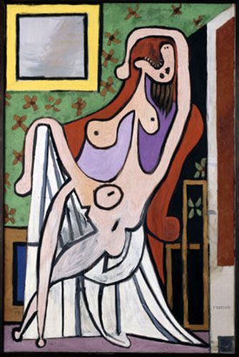 Grand nu au fauteuil rouge, Pablo Picasso