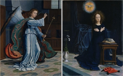 The Annunciation Gerard David  1506 The Metropolitan Museum