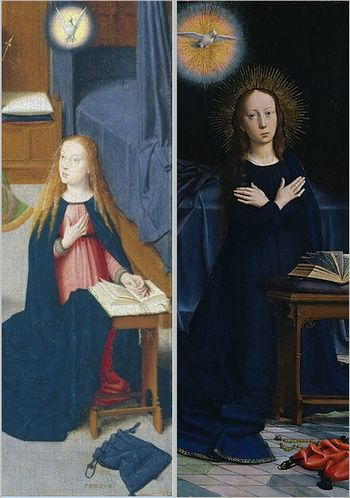 The Annunciation Gerard David