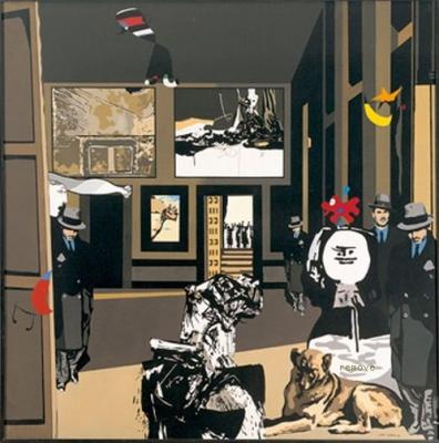 Manolo Valdés & Rafael Solves (Equipo Cronica), El recinte, 1971