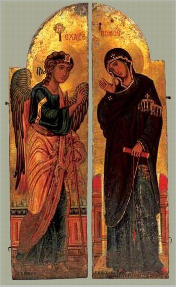 XIIème siècle Annonciation Monastère orthodoxe Sainte-Catherine