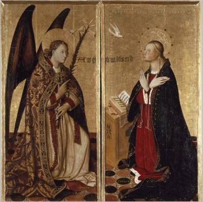Museo de Bellas Artes de Valencia Milieu du XVe siècle. Auteur. Jacomart. Jaume Baçó Escrivà (Valencia 1411- 1461),Contexte culturel. Gothique