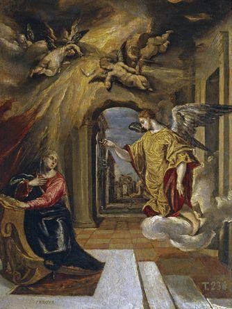 Museo Nacional del Prado  El Greco  La Anunciación