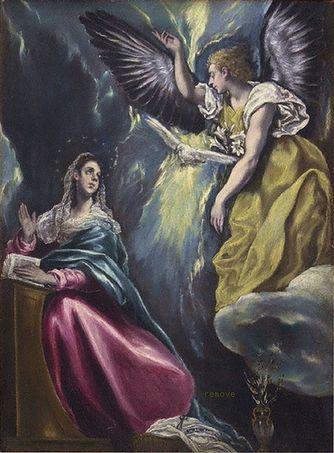 El Greco, Annunciation  Ohara Museum