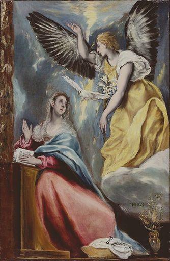 La Anunciación  1600s. Toledo Museum of Art, Toledo,