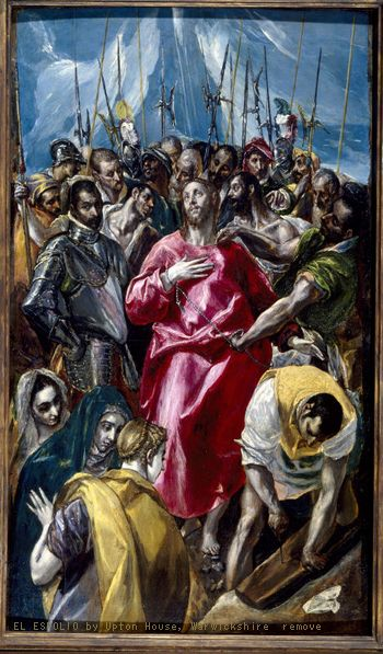 EL ESPOLIO by El Greco  (C) Upton House, Warwickshire