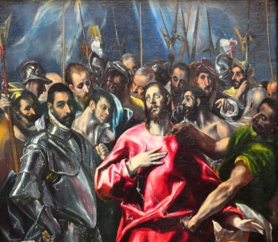 El Greco  The Disrobing of Christ by Alte Pinakothek