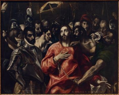 El Greco El Espolio