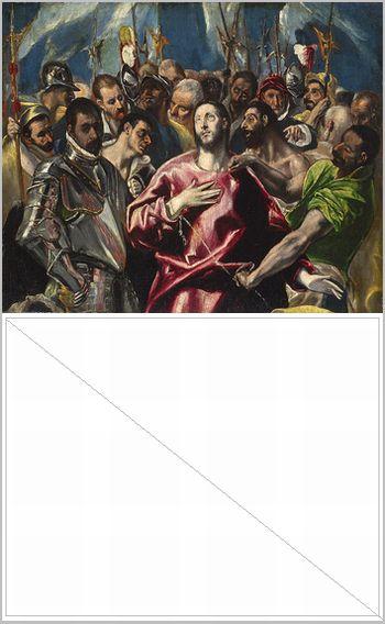 Le partage de la tunique du Christ (dit aussi LEspolio), El Grec Musee des Beaux-Arts de Lyon