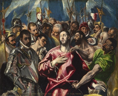 Le partage de la tunique du Christ (dit aussi LEspolio), El Greco Musee des Beaux-Arts de Lyon