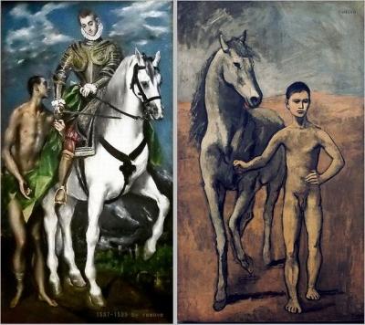 le Greco Pablo Picasso