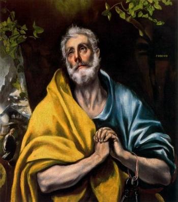 Las Lágrimas de San Pedro THEOTOKÓPOULOS, Doménikos (El Greco)