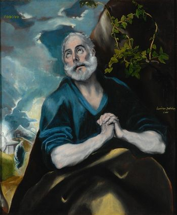 The Tears of St. Peter  Domenikos Theotokopoulos El Greco  The Bowes Museum