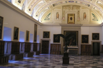 Chapter House, Monasterio de San Lorenzo, El Escorial