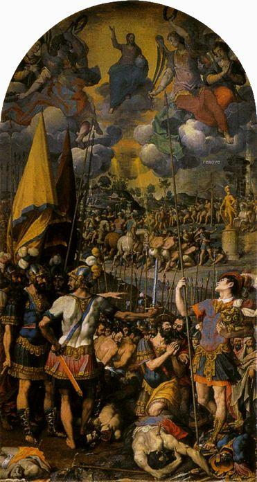 Romulo Cincinnato - The Martyrdom of St. Maurice 1583 El Escorial, Monasterio de El Escorial