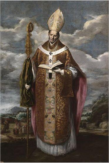 Domenikos Theotokopoulos (El Greco) - San Ildefonso; 1600s; Museo del Prado, Madrid, Spain
