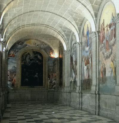 frescos Real Monastero De San Lorenzo, El Escorial, Spain