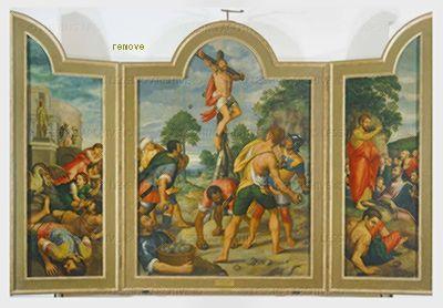 Coxcie,Michiel van The martyrdom of Saint Philip.Real Monastero de San Lorenzo, El Escorial, Spain
