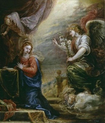 Francisco Rizi, The Annunciation, c. 1665