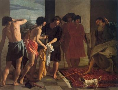 Velázquez  La túnica de José