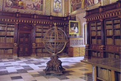 Esfera armilar es obra de Antonio Santucci, c. 1582