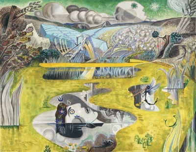 André Masson Ophelia 1937 Courtesy Baltimore Museum of Art