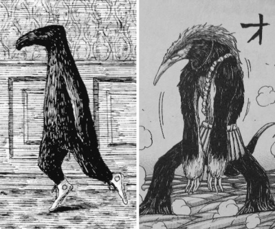 The Doubtful Guest, by Edward Gorey and 漫画家島袋光年「トリコ」