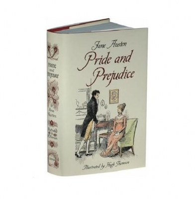 PRIDE & PREJUDICE ~ JANE AUSTEN ~ UNABRIDGED REPLICATION OF ED GEORGE ALLEN 1894