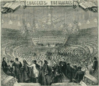 Pasdeloup's concert on  3 November 1861