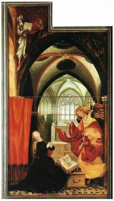 isenheim altarpiece by matthias grünewald
