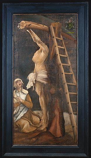 Christoph Krafft (nach Grünewald), Magdalenenklage, 1648, Öl auf Leinwand, Künzelsau, Museum Würth