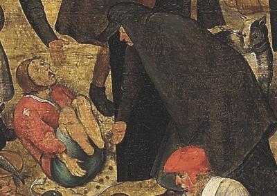 Der Kampf zwischen Karneval und Fasten (1559) Brueghel Young