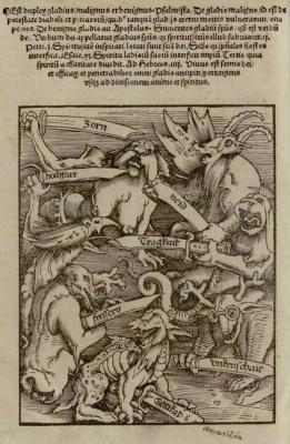 Hans Baldung Griens    Die Sieben Todsünden (1511)
