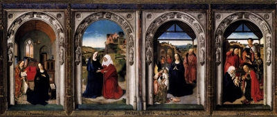 Polyptych of the Virgin: The Annunciation, The Visitation, The Adoration Of The Angels and The Adoration Of The Kings