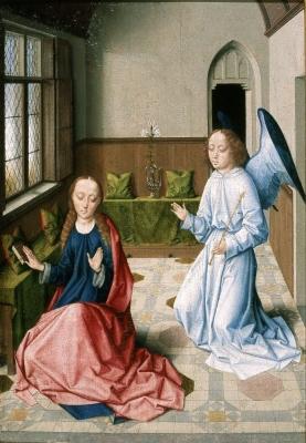 Bouts Annunciation   Czartoryski Museum