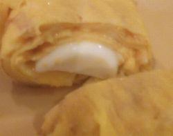さけるチーズin玉子焼き