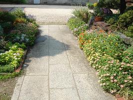夏花壇06−1