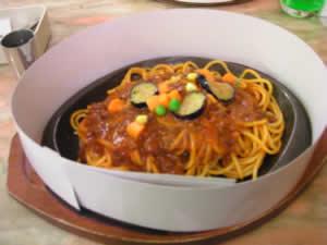 ミツヤのスパゲッティ