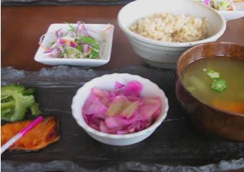 穀菜健美Cafe