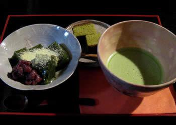 三丘園 抹茶わらび餅