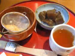 黒豆茶庵わらび餅
