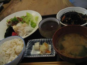 びお亭 豆腐ランチ